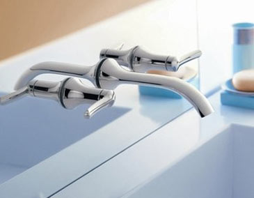 Bathroom Faucet From Wall wall mount bathroom faucets