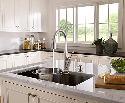 Kitchen Pullout and Pulldown Faucets by Kohler, Moen and Delta ...
