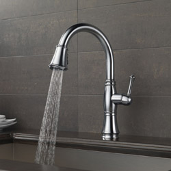 Delta Cassidy Pull Down Kitchen Faucet