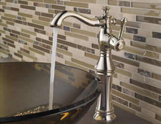 Delta Cassidy Single Hole Lavatory Faucet