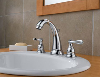 Marvelous Delta B3596LF Foundations Windemere Two Handle. Delta Windemere Two Handle  Widespread Lavatory Faucet