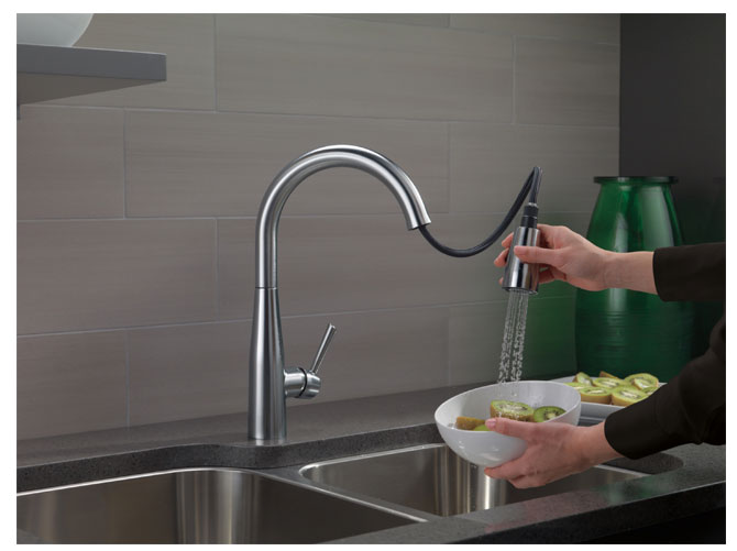 Delta Essa 9113 AR DST Stainless Faucet