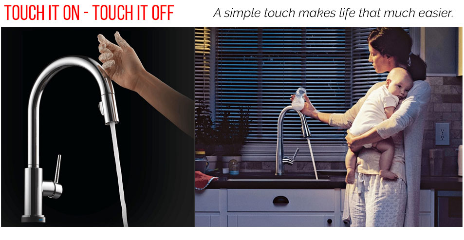 Delta Touch Faucets