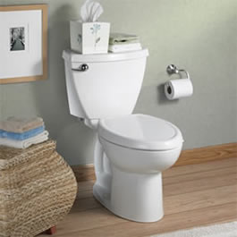 American Standard 2383.014.020 Cadet 3 Two Piece Elongated Toilet