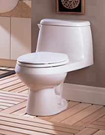 American Standard Cadet Round Front One Piece Toilet