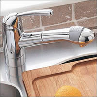 American Standard 4137.100.002 Culinaire Collection Single Control Pullout Kitchen Faucet