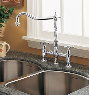 American Standard 4233.721.002 Culinaire Collection Bridge Kitchen Faucet