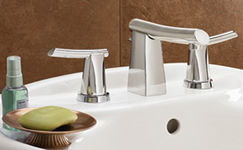 American Standard 7010.801.002 Green Tea Two Handle Widespread Lavatory Faucet Polished Chrome