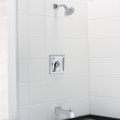 American Standard T555.502.002 Town Square Bath Shower Trim Kit Chrome