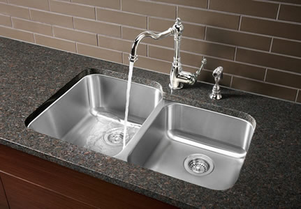 Blanco Stellar 1-3/4 Dual Bowl Undermount Kitchen Sink