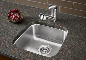 Merveilleux Blanco Stellar Single Bowl Undermount Bar Sink