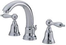 Danze D303040 Fairmont Two Handle Mini Widespread Lavatory Faucet Chrome