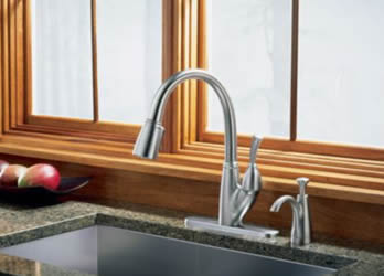 Delta Allora Single Handle Pull Down Kitchen Faucet
