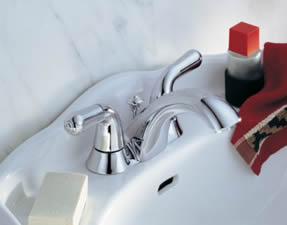 Delta Innovations Two Handle Centerset Lavatory Faucet