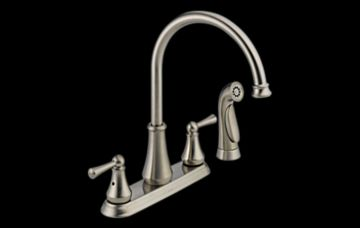 Delta Lewiston Kitchen Faucet With Spray