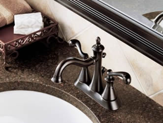 Delta Vessona Two Handle Centerset Lavatory Faucet