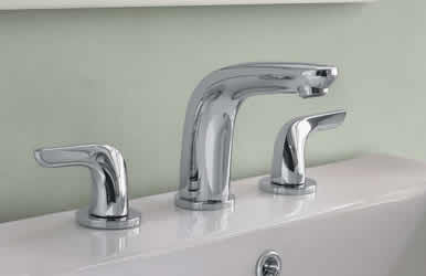 Hansgrohe Allegro E Two Handle Widespread Lavatory Faucet