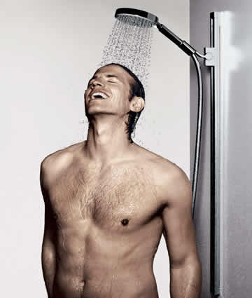 Hansgrohe Unica Wallbar Shower