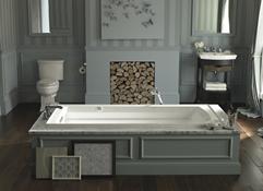 kohler archer bubble massage bath with comfort depth design - Kohler Archer Tub