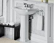Bathroom Pedestal Sink Ideas Lovable Amusing Devonshire