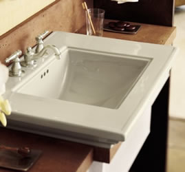 Kohler Memoirs Lavatory With Stately Design