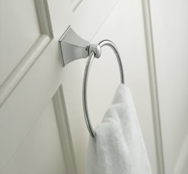 Kohler Memoirs Towel Ring With Stately Design
