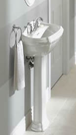 washington bathroom sinks mini single pedestal pinterest and small pin sink hole faucets