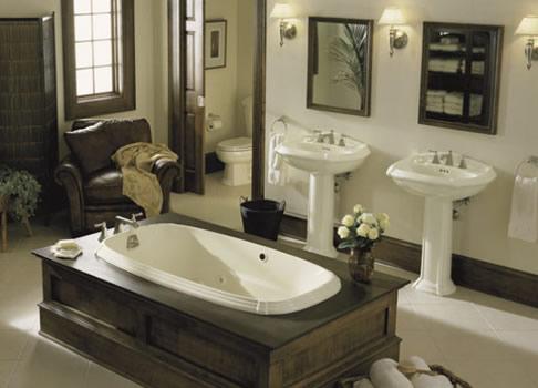 Kohler Portrait 5u0027 Whirlpool, Kohler Portrait Bathroom Suite