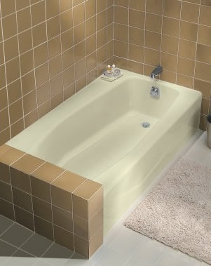 Kohler Villager Bath With Extra Ledge