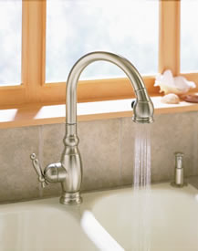 Kohler Vinnata Pull Down Kitchen Sink Faucet