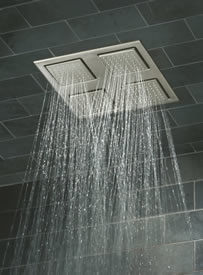 Kohler Watertile Square Rain Overhead Showering Panel