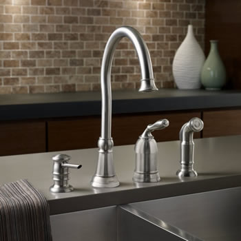 Moen Lindley One Handle High Arc Faucet
