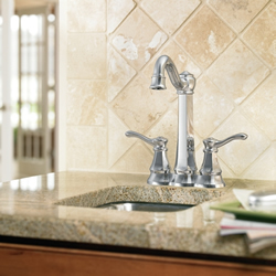 Moen Vestige Two Handle High Arc Bar Faucet