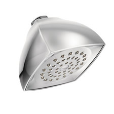 Moen 6325 Voss Single Function Moenflo xl Showerhead Chrome