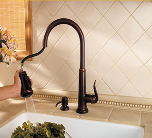 Pfister Ashfield Pull Down Kitchen Faucet