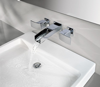 Pfister Kenzo 3 Hole Wall Mount Faucet