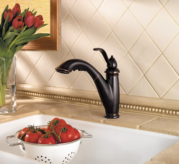 Pfister Marielle 1 Or 3 Hole Pull Out Kitchen Faucets