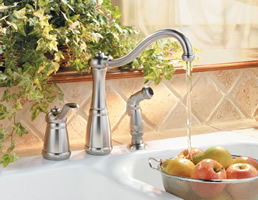 Pfister Marielle 3 Hole Single Control Kitchen Faucet