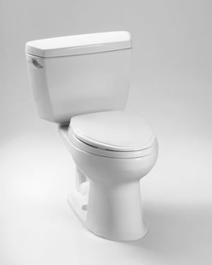 Toto Drake Two Piece Elongated Toilet