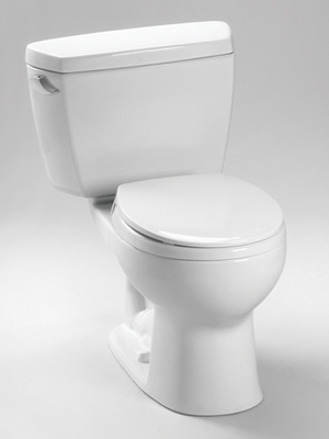 Toto Eco Drake Two Piece Round Toilet
