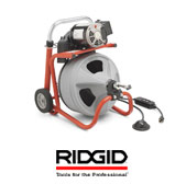 Ridgid Drain Cleaning Machines