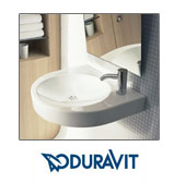 Duravit Wall-Mounted Bathroom Sinks