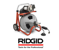 Ridigid Drain Cleaning Machines