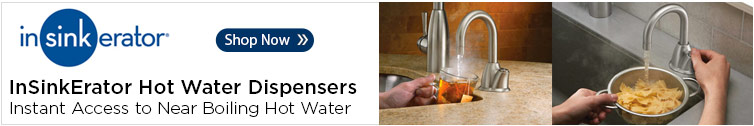 InSinkErator Instant Hot Water Dispensers