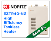 Noritz EZTR40-NG Tankless Water Heater
