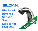 Sloan Electronic Soap Dispenser - ESD-250