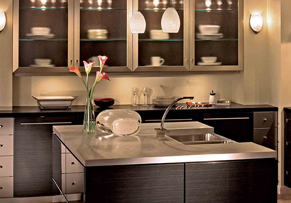Brizo Loki Designer Kitchen by Saxton Cabinetry