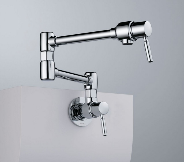 Brizo Wall Mounted Potfiller in Chrome
