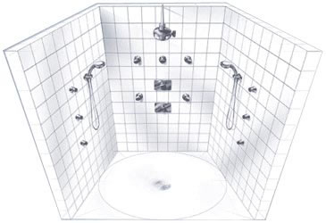 Grohe Companion Custom Shower System