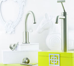 Brushed Nickel Sink Faucet